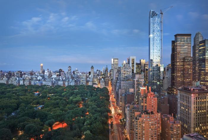 Espectaculares vistas desde el Mandarin Oriental de NY