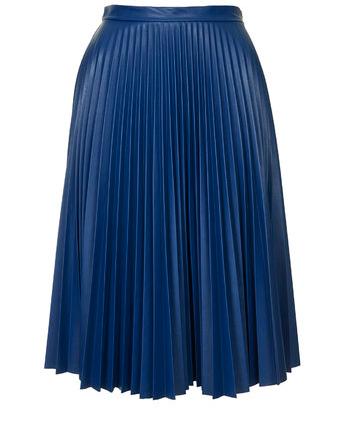 Falda azul TopShop