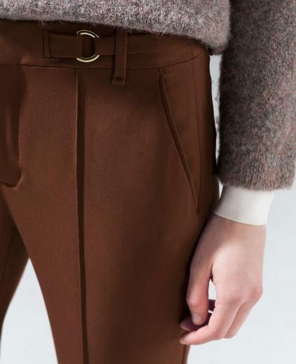 Pantalon Toffee zara