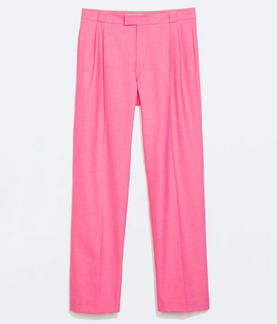 Pantalon rosa chicle