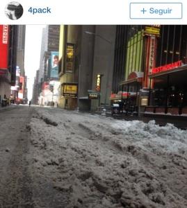 NY City snow storm