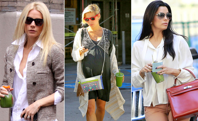 celebrities detox