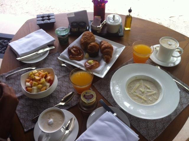 El desayuno es...mmm