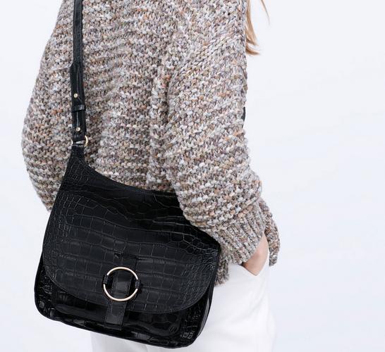 Zara bandolera ss15 bag